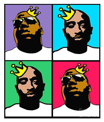 Stanley Slaughter Digital Art - Notorious Thugs by Stanley Slaughter Jr