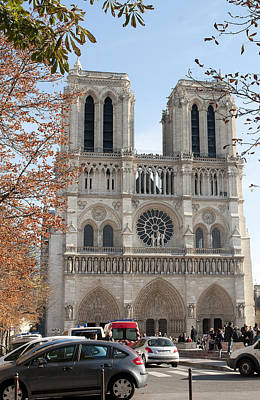 Photograph - Notre Dame 2621 by Charles  Ridgway