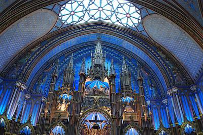 Photograph - Notre Dame Basilica by John Schneider