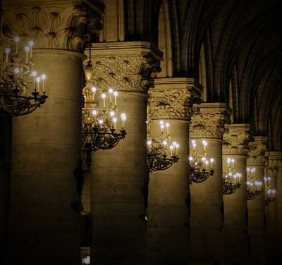 Bicycle Patents - Notre-Dame Cathedral Columns by Clay Kirby