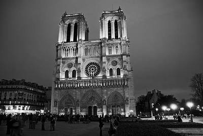 Photograph - Notre Dame Cathedral by Daniel Hagerman