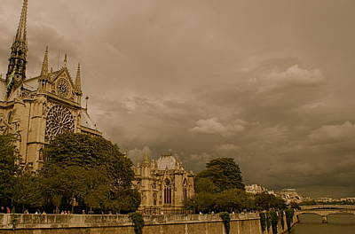 Photograph - Notre Dame Cathedral by Louise Fahy