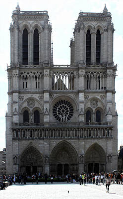 Photograph - Notre Dame Cathedral by Gregory Dyer