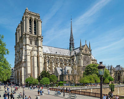 Photograph - Notre Dame Cathedral by Joe Myeress