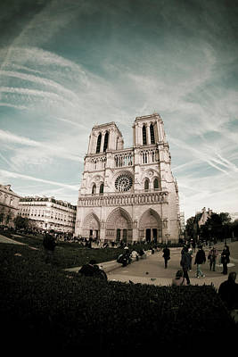 Photograph - Notre Dame Cathedral by Mariana Carrillo