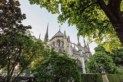 Photograph - Notre Dame Cathedral - Paris, France by Melanie Alexandra Price