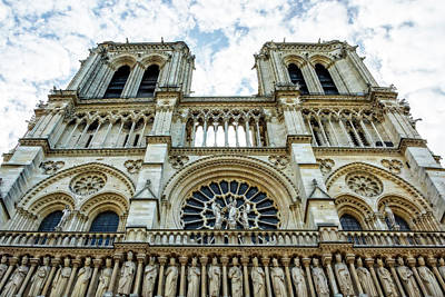 Photograph - Notre Dame Cathedral, Paris by Kay Brewer