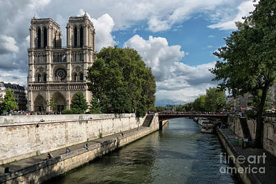 Photograph - Notre Dame Cathedral Paris by Lynn Bolt