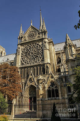 Photograph - Notre Dame Cathedral  by Patricia Hofmeester