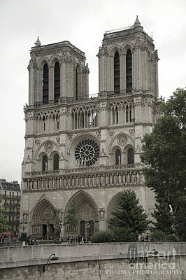 Wall Art - Photograph - Notre Dame by Christine Mlynarchuk