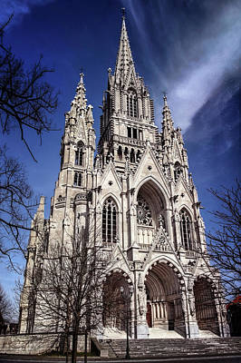 Steeple Photograph - Notre Dame De Laeken In Brussels  by Carol Japp