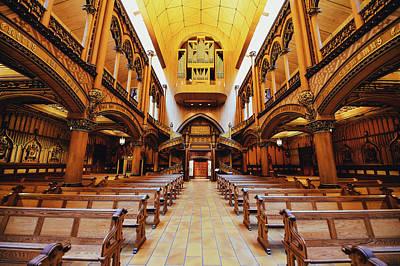 Montreal Landmarks Photograph - Notre Dame De Montreal Basilica by Mountain Dreams