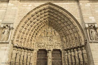 Notre Dame De Paris - 5 - The Portal Of The Last Judgment  Original