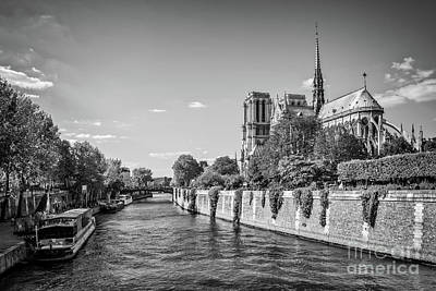 Photograph - Notre Dame De Paris by Delphimages Photo Creations
