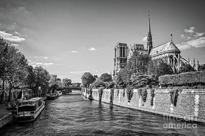Notre Dame Wall Art - Photograph - Notre Dame De Paris by Delphimages Photo Creations