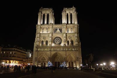 Photograph - Notre Dame De Paris by Erik Tanghe