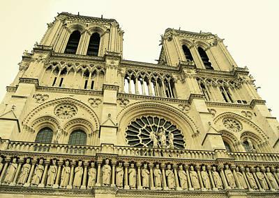 Notre Dame De Paris Art Print by JAMART Photography