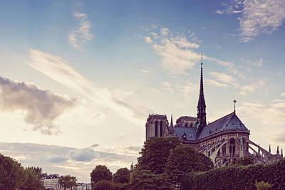 Photograph - Notre Dame De Paris - Paris, France by Melanie Alexandra Price