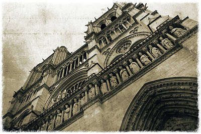 Photograph - Notre-dame De Paris_01 by Pawel Dobrowolski