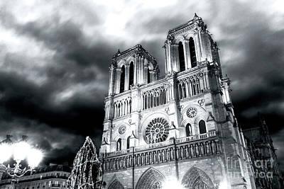 Photograph - Notre Dame De Paris Portrait by John Rizzuto