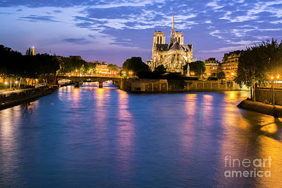Photograph - Notre Dame De Paris  by Tim Mulina