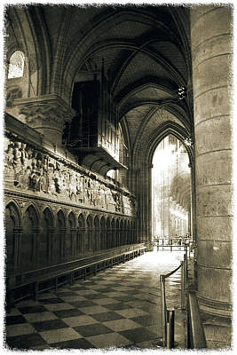 Photograph - Notre-dame De Paris_03 by Pawel Dobrowolski