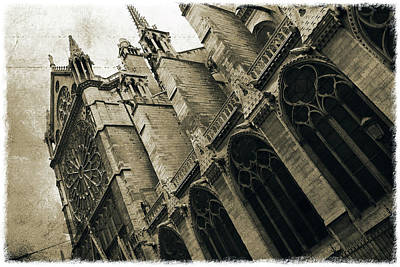 Photograph - Notre-dame De Paris_04 by Pawel Dobrowolski