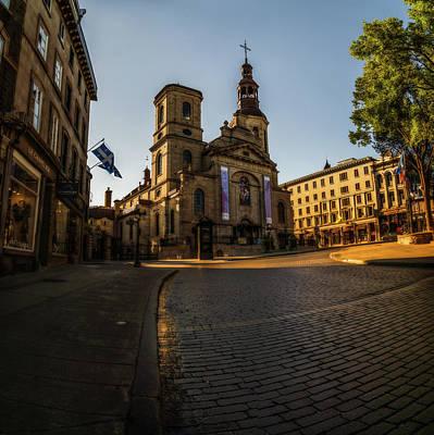 Photograph - Notre-dame De Quebec Basilica-cathedral by Chris Bordeleau