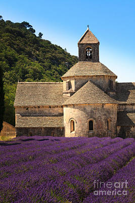 Photograph - Notre-dame De Senanque  Abbey Provence France by Peter Noyce