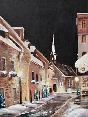 Michael Mcgrath Painting - Notre Dame Des Victoires by Michael McGrath