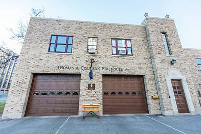 Photograph - Notre Dame Fire Department  by John McGraw
