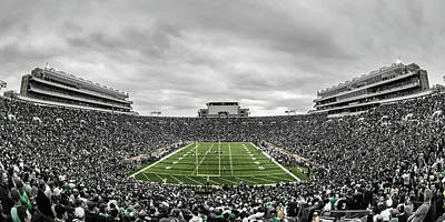 Photograph - Notre Dame Football by Paul Treseler