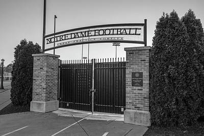Photograph - Notre Dame Football Practice Field  by John McGraw