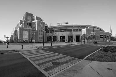 Photograph - Notre Dame Football Staduim  by John McGraw