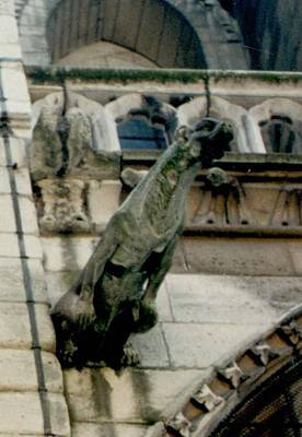 Photograph - Notre Dame Gargoyle 3 by Christopher Kirby