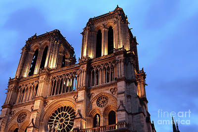 Photograph - Notre Dame Gothic Style by John Rizzuto