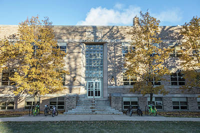 Photograph - Notre Dame Hagger Hall  by John McGraw