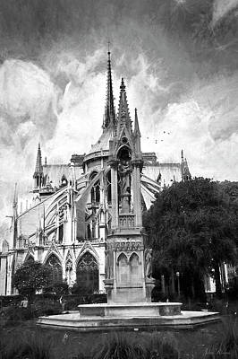 Photograph - Notre Dame In Paris by John Rivera