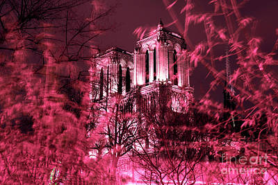 Photograph - Notre Dame In The Distance by John Rizzuto