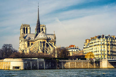 Photograph - Notre Dame by James Billings