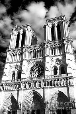 Of Artist Photograph - Notre Dame by John Rizzuto