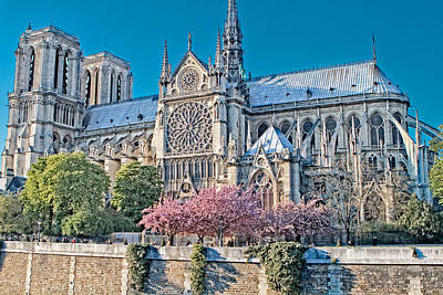 Photograph - Notre Dame  by Kim Wilson