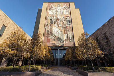 Photograph - Notre Dame Library 2 by John McGraw