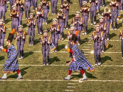 Notre Dame Marching Band Art Print by David Bearden