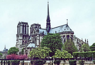 Photograph - Notre Dame by Mary Bedy