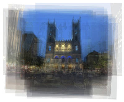 Montreal Icons Photograph - Notre-dame Basilica Montreal by Steve Socha