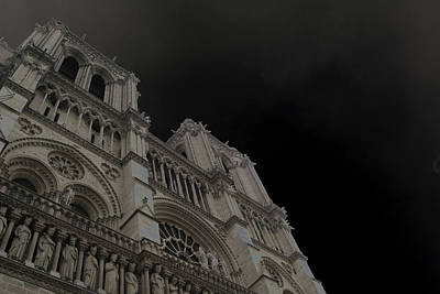 Photograph - Notre Dame by Nancy Ingersoll