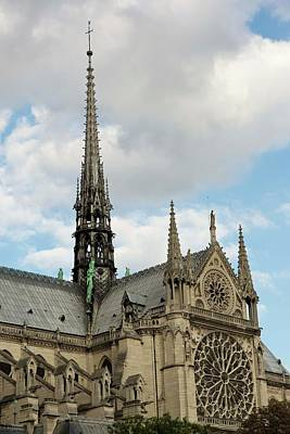 Photograph - Notre Dame On The Side by Hany J