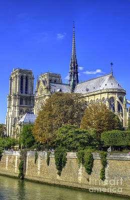 Photograph - Notre Dame, Paris by Juli Scalzi