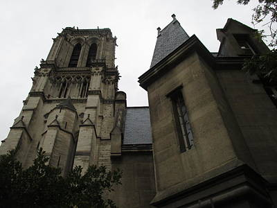 Photograph - Notre Dame Paris Southwest by Christopher Kirby